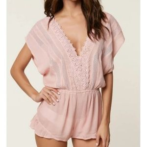 NWT O'Neill Shay Pink Cover-up Size S